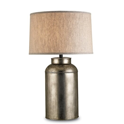 "Currey & Company Pioneer 32"" H Table Lamp with Drum Shade"