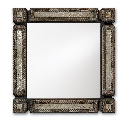 Currey & Company Tramp Art Mirror