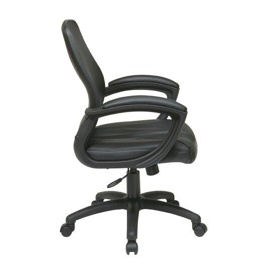 OSP Designs Screen Back Contoured Shell Chair