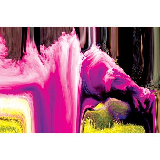 Crush Collective Smoke Waterfall Graphic Art on Canvas