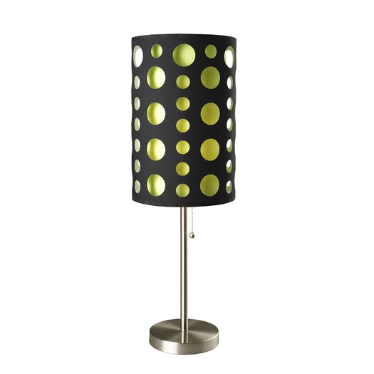 "ORE Furniture Retro 33"" H Table Lamp with Drum Shade"