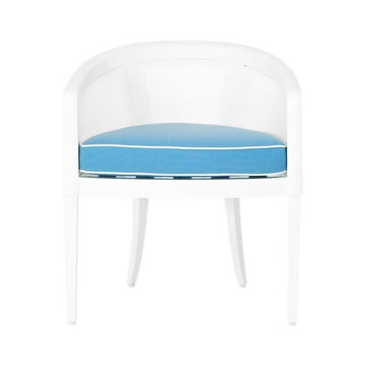 OASIQ Madison Stacking Dining Arm Chair with Cushion