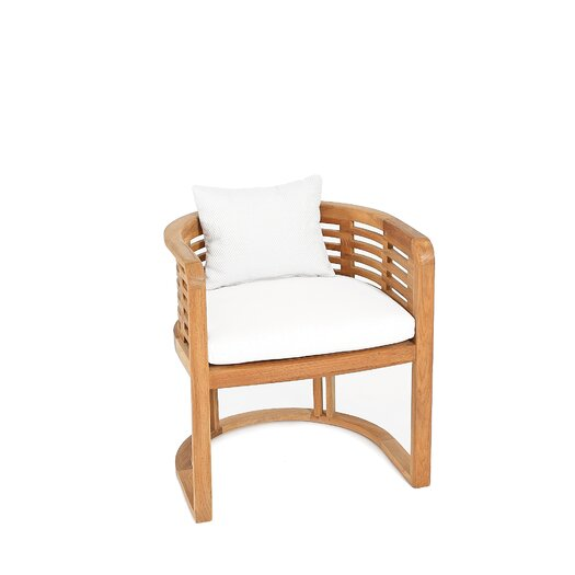 OASIQ Hamilton Dining Arm Chair with Cushion