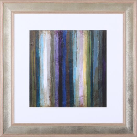 Art Effects Striations II' by Wani Pasion Framed Painting Print