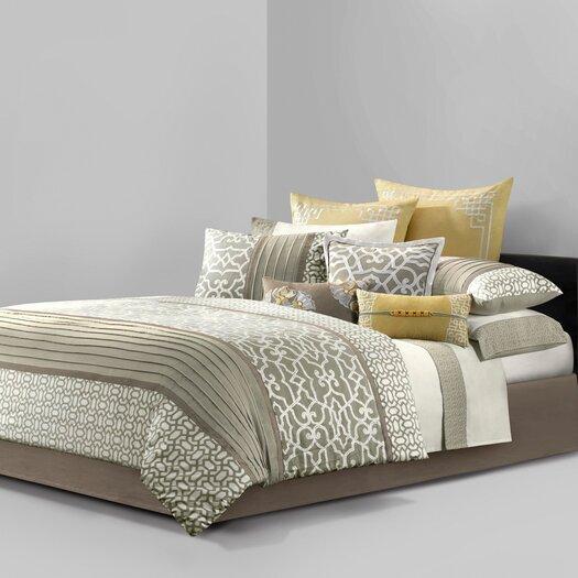 Natori Fretwork 4 Piece Comforter Set