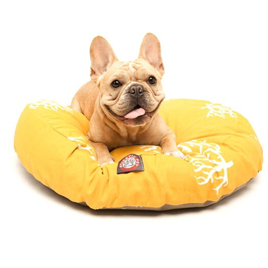 Majestic Pet Products Coral Round Dog Pillow