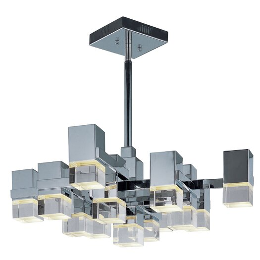 ET2 Nova 13 Light Kitchen Island Pendant