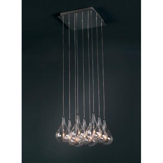ET2 Sklo 9 - Light Multi - Light Pendant