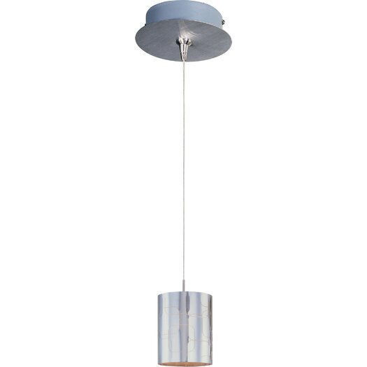 ET2 Silver Plate 1-Light RapidJack Pendant and Canopy