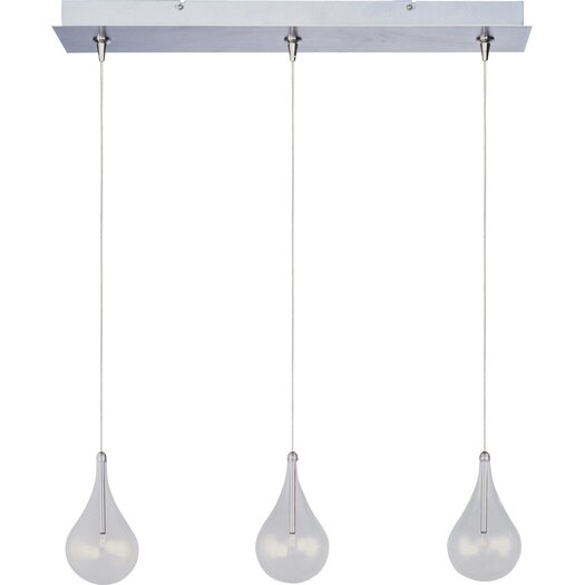 ET2 Minx 3 Light RapidJack Linear Pendant