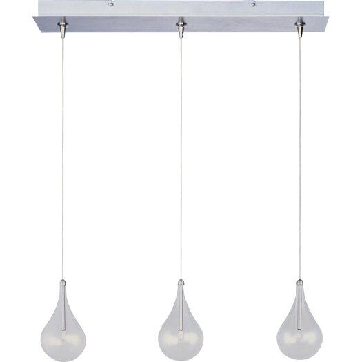 ET2 Larmes 3-Light RapidJack Pendant and Canopy