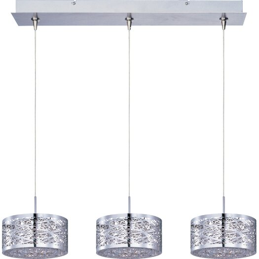 ET2 Inca 3-Light RapidJack Pendant and Canopy