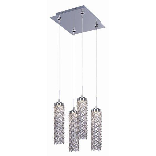 ET2 Sparkle 4 - Light Multi - Light Pendant