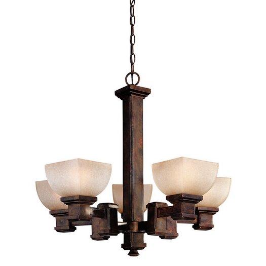 Dolan Designs Belltown 5 Light Chandelier