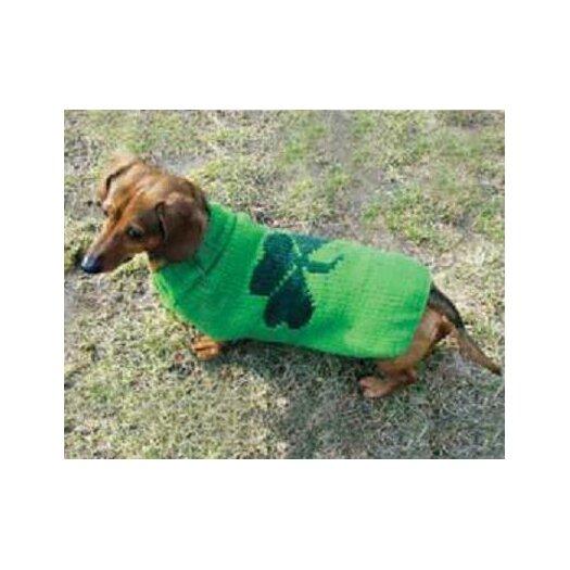 Chilly Dog Shamrock Dog Sweater