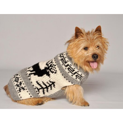 Chilly Dog Reindeer Shawl  Sweater