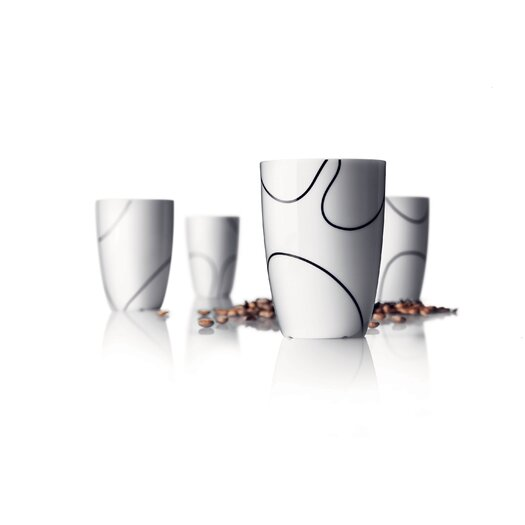 Menu Pernille Vea Black Contour Medium Thermo Cup