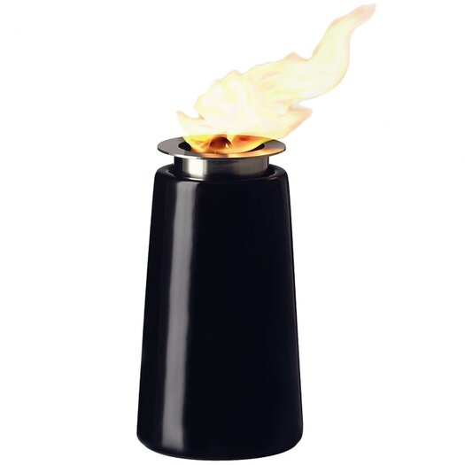 Menu Christian Bjorn Porcelain and Aluminum Oil Lamp Lighthouse
