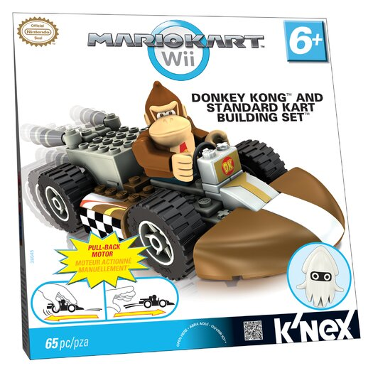 K'NEX Nintendo Donkey Kong and Standard Kart Building Set