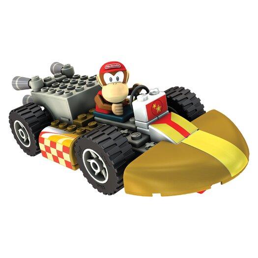 K'NEX Nintendo Diddy Kong and Standard Kart Building Set