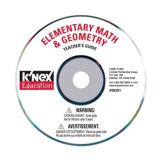 K'NEX Education Elementary Math and Geometry Building Set