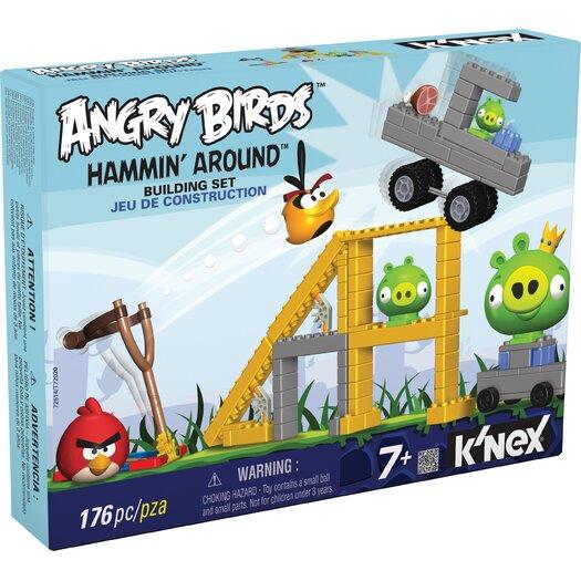 K'NEX Angry Birds Hammin' Around Building Set