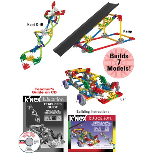 K'NEX Education Intro to Simple Machines Wheels and  Axles and Inclined Planes