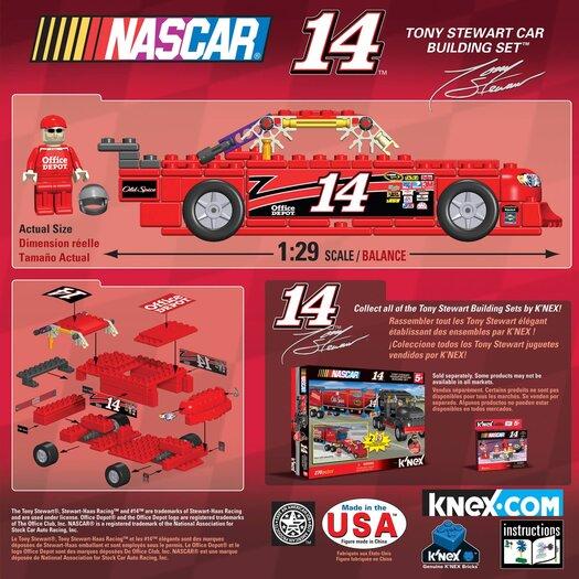 K'NEX NASCAR Driver Amp Energy Car