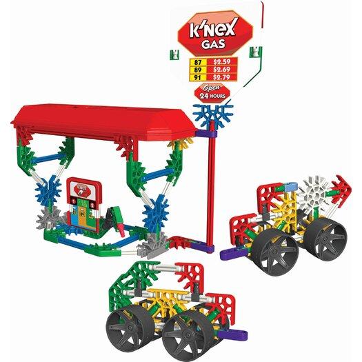 K'NEX Classics Gas Station Building Set