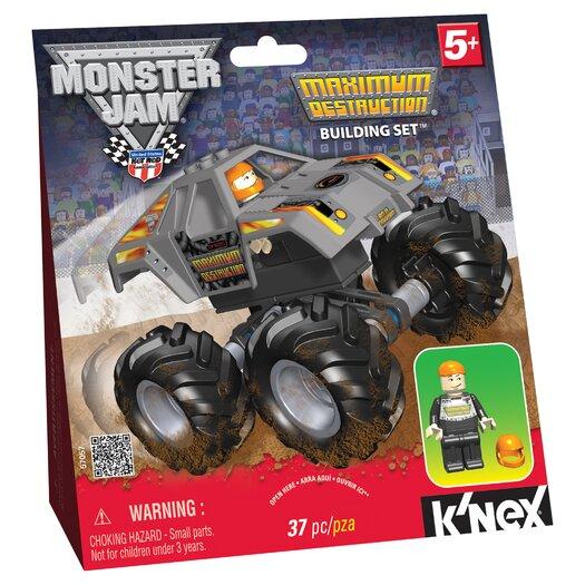 K'NEX Monster Jam Maximum Destruction Building Set