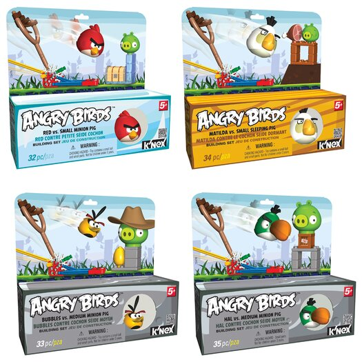 K'NEX Angry Birds Starters Assortment