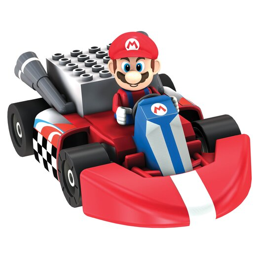 K'NEX Nintendo Mario Kart Wii Mario vs. Thwomp Track Pack Kit