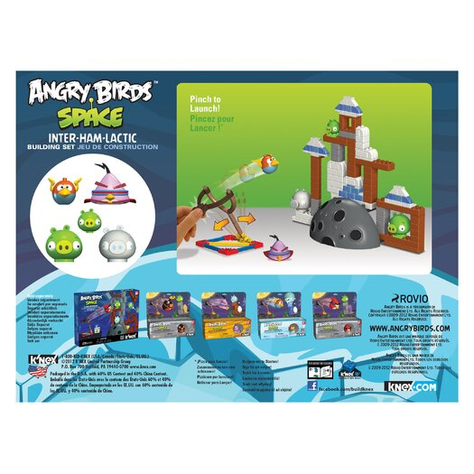 K'NEX Angry Birds Space Inter-ham-lactic Building Set