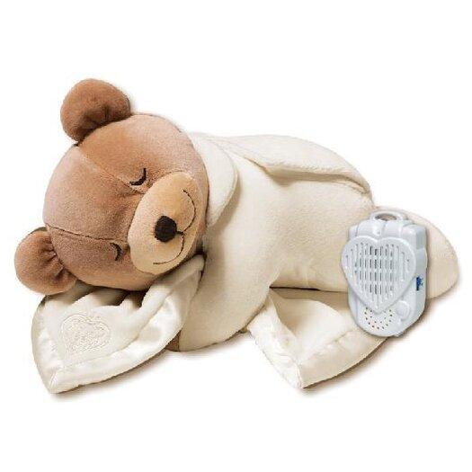Prince Lionheart Slumber Bear with Silkie Blanket in Beige