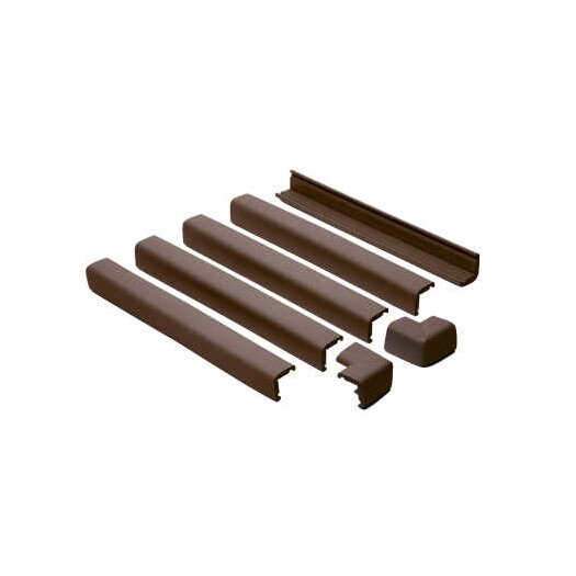 Prince Lionheart Fireplace Guard in Chocolate
