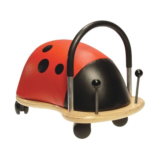 Prince Lionheart Wheely Bug Ladybug Push/Scoot Ride-On