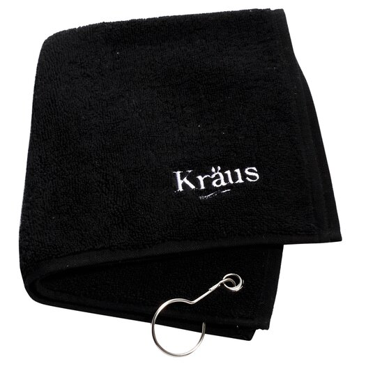 "Kraus 23"" x 17.75"" 4 Piece Single Bowl Kitchen Sink Set"
