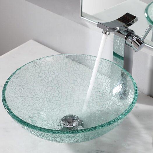 Kraus Bathroom Combos Broken Bathroom Sink with Single Handle Single Hole Faucet