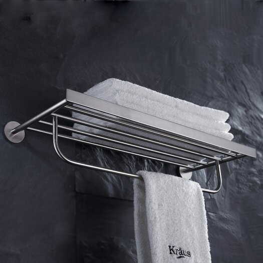 Kraus Imperium Bath Wall Mounted Towel Rack