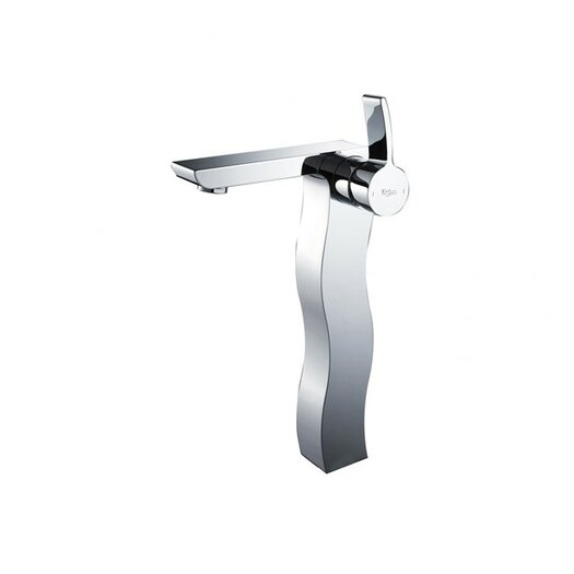 Kraus Sonus Single Hole Bathroom Faucet with Single Handle