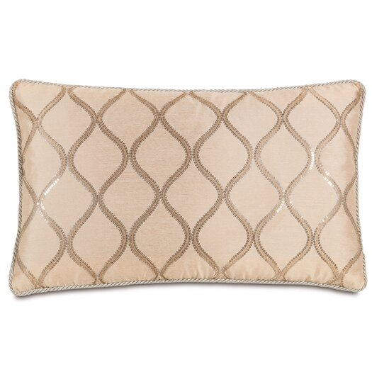 Eastern Accents Bardot Bisque with Cord Accent Pillow
