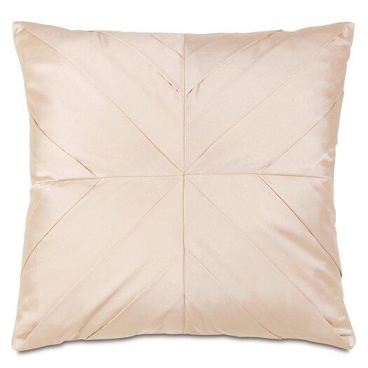 Eastern Accents Bardot Marilyn Chamois Pleats Accent Pillow