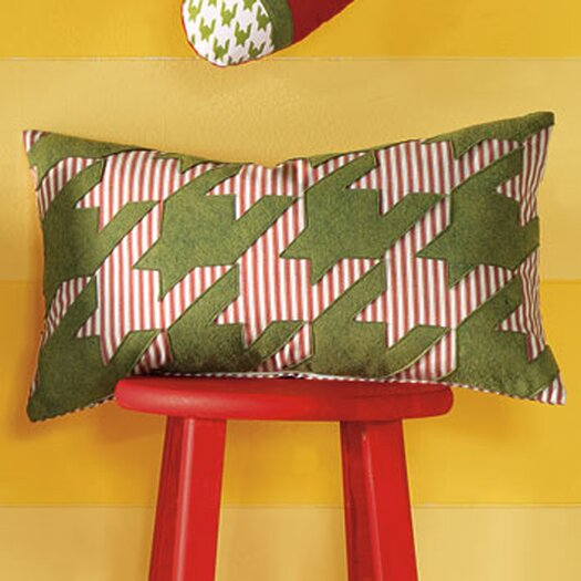 Eastern Accents North Pole Reindeer Games Decorative Pillow