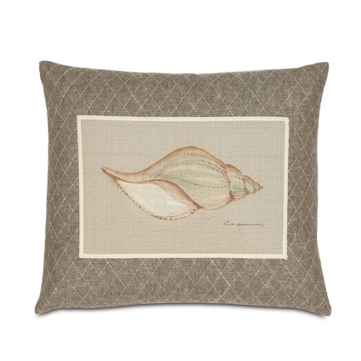 Eastern Accents Avila Polyester Hand-Painted Shell Decorative Pillow