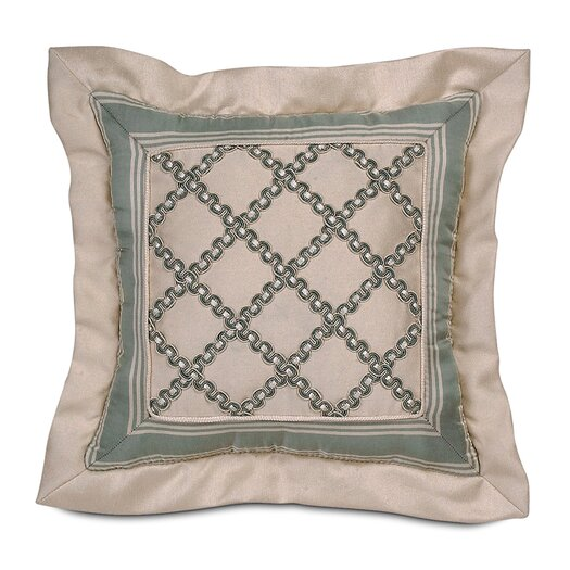 Eastern Accents Carlyle Polyester Witcoff Mitered Decorative Pillow