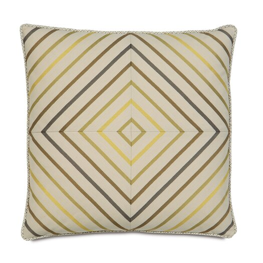 Eastern Accents Caldwell Polyester Austin Squares Decorative Pillow