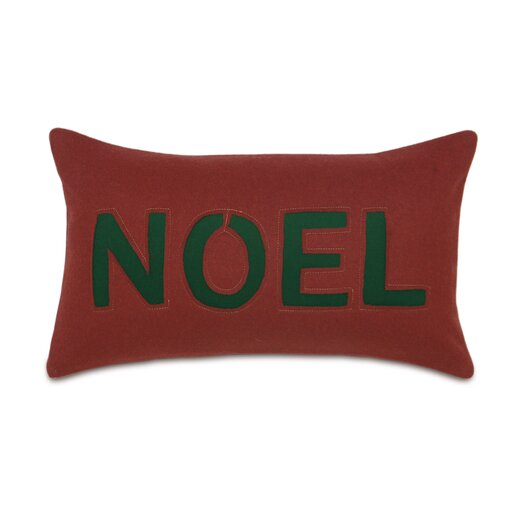 Eastern Accents Home for The Holidays Noel Decorative Pillow