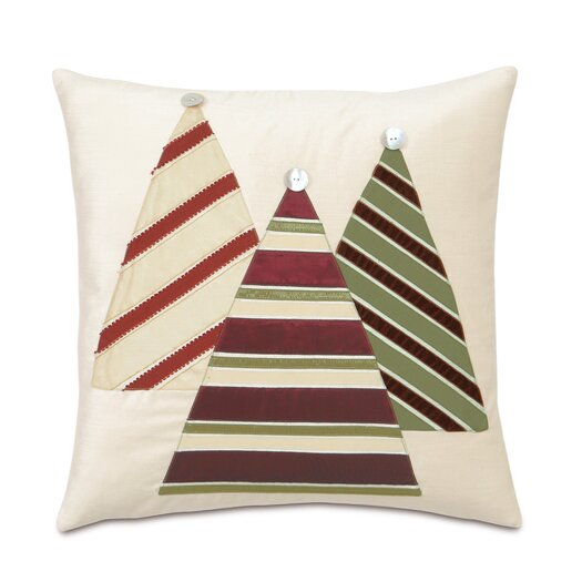 Eastern Accents Candy Cane Christmas Tree Decorative Pillow