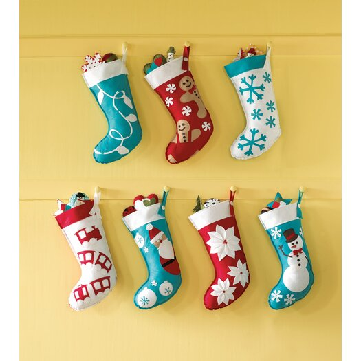 Eastern Accents North Pole Jolly Friend Stocking