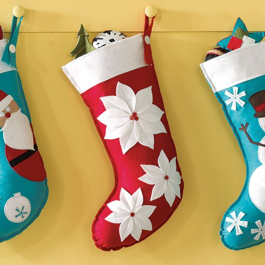 Eastern Accents North Pole Point Me Home Stocking